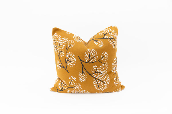 Elephant Cushion - Mustard