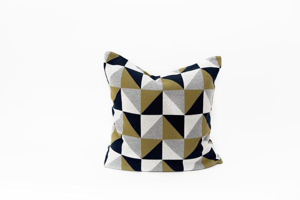 Elephant Cushion - Chequered