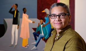 Lubaina Himid MBE for the Secret Auction