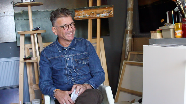 Inside the Artist's Studio: Andrew Torr