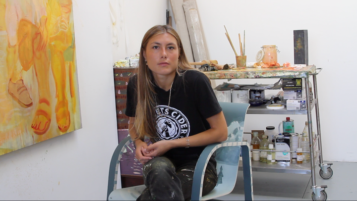 Inside the Artist's Studio: Antonia Showering