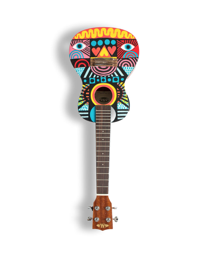 David Shillinglaw for Art on a Ukulele