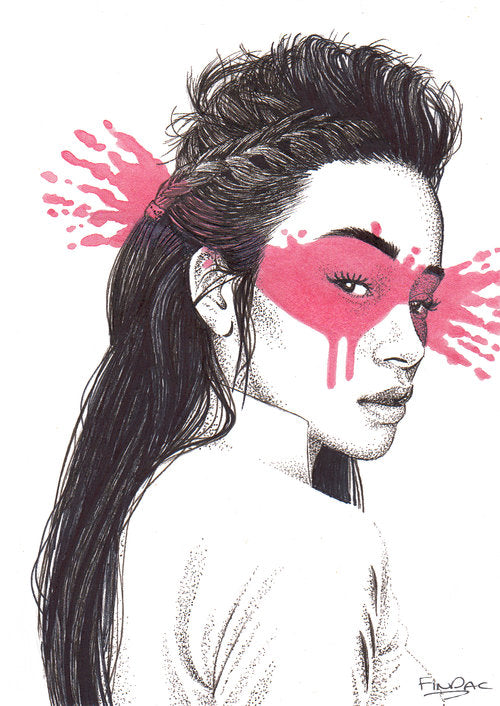 COMPETITION - WIN Limited Edition Print Shinoya by Fin DAC