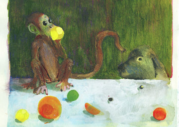 Charles Williams - Monkey, Lemon and Dog