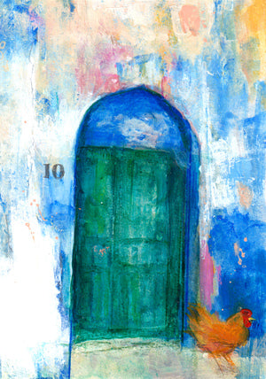 Janet Archer - Italian Door