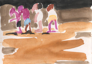 Susie Hamilton - Procession on Beach