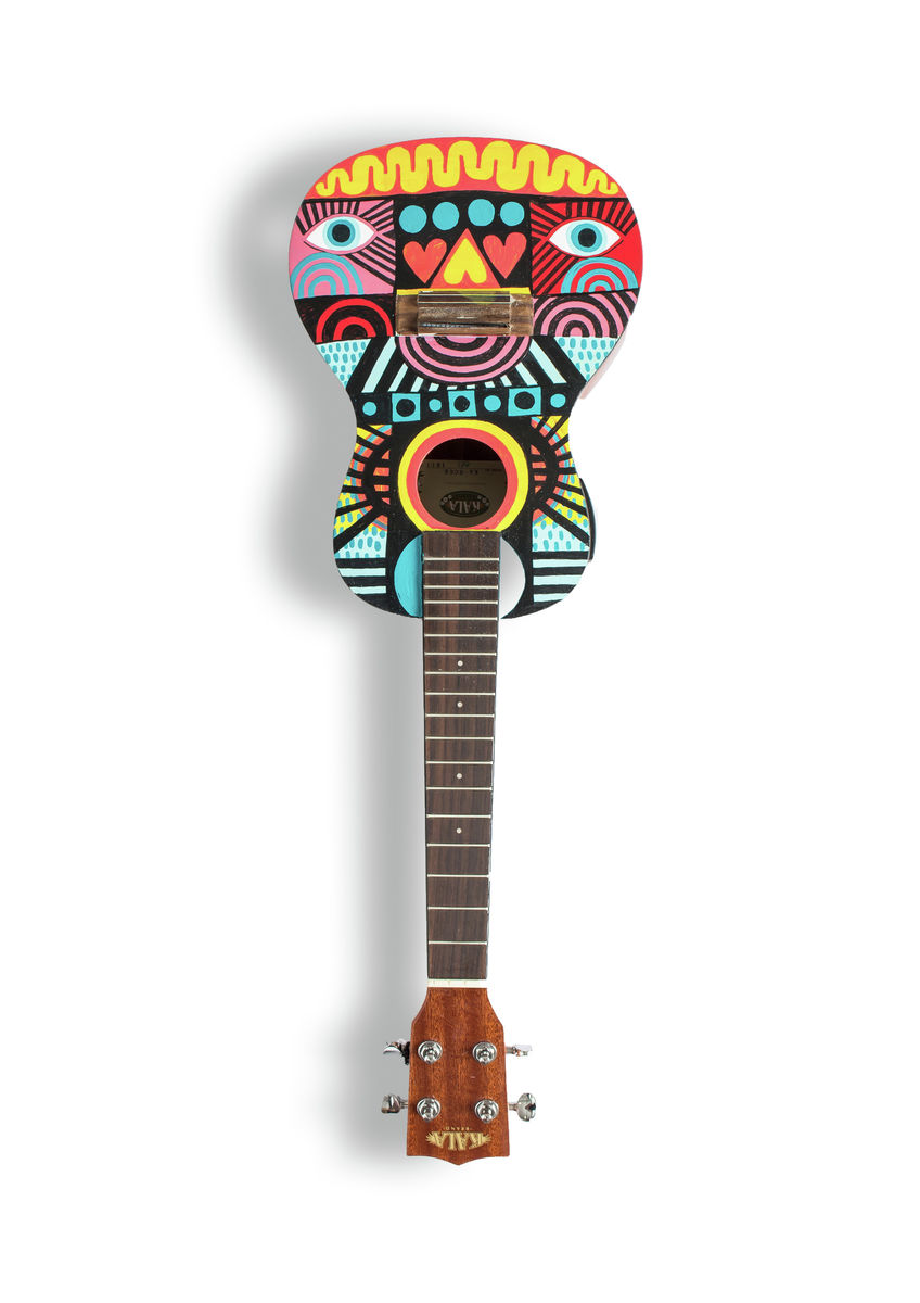 David Shillinglaw - A6 Art on a Ukulele Print
