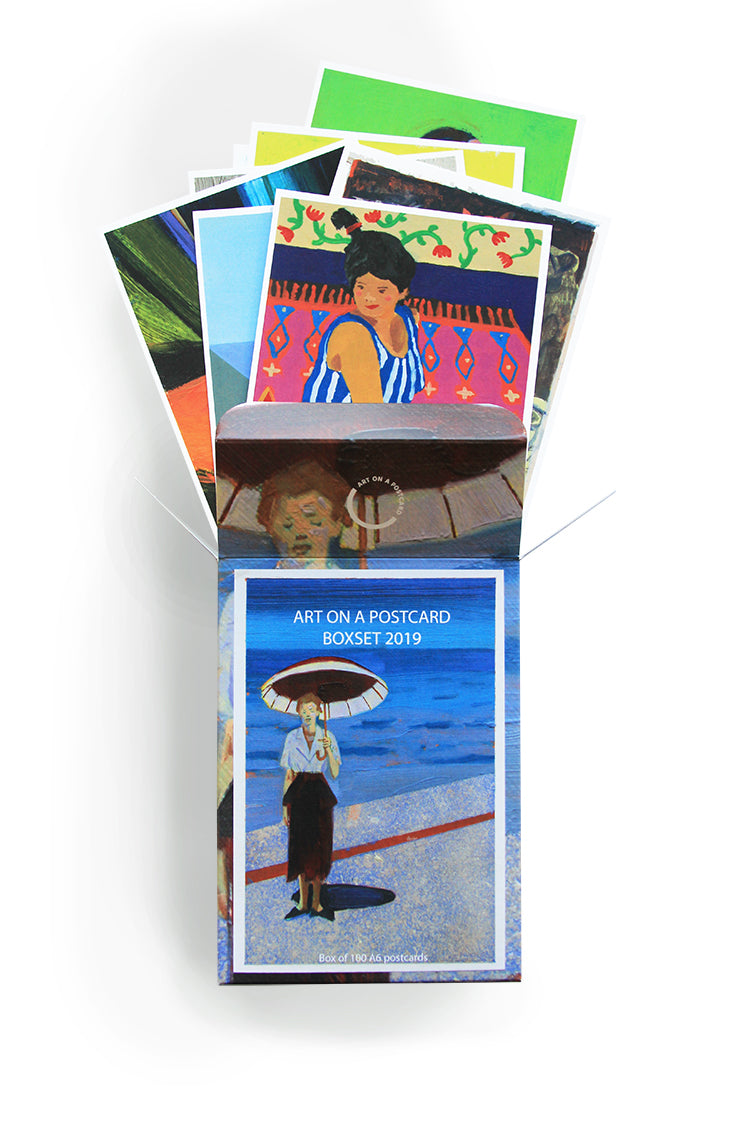 Art on a Postcard 2019 Boxset 100 Postcards
