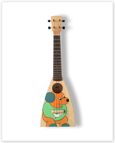 Allen Jones RA - Limited Edition Ukulele Print