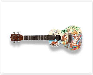 Chris Orr RA - Limited Edition Ukulele Print