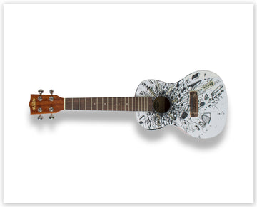 David Mach RA - Limited Edition Ukulele Print