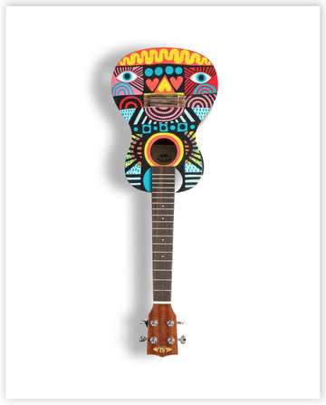 David Shillinglaw - Limited Edition Ukulele Print