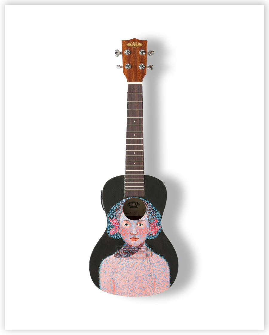Lisa Wright - Limited Edition Ukulele Print
