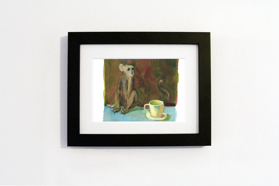 Charles Williams - Monkey and Teacup