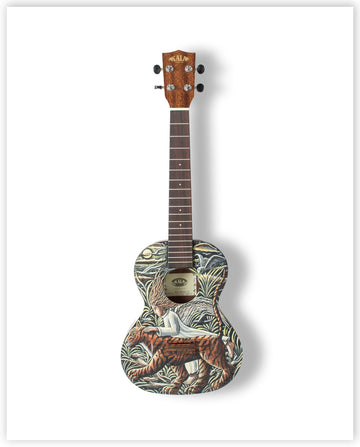 PJ Crooke MBE - Limited Edition Ukulele Print