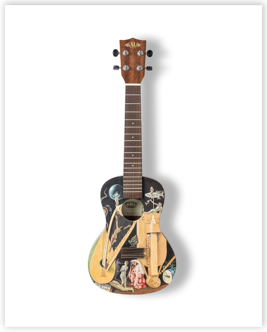 Peter Messer - Limited Edition Ukulele Print