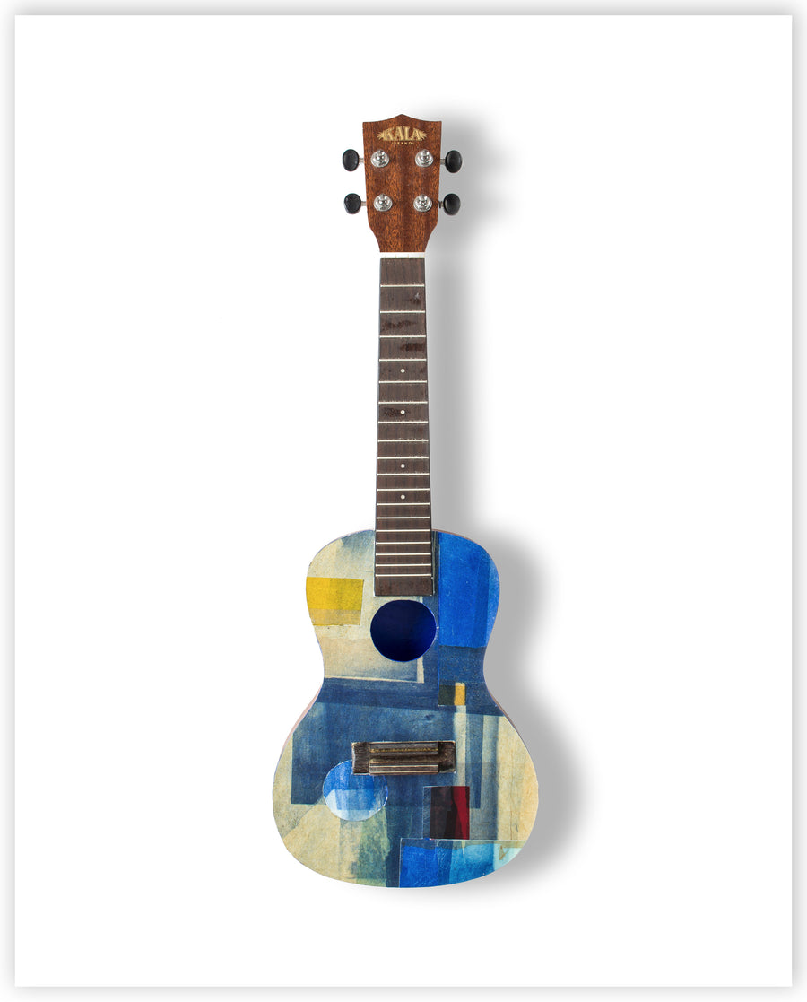 Tooney Phillips - Limited Edition Ukulele Print