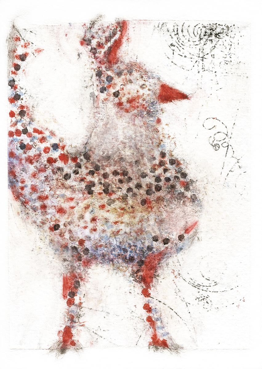 Alicia Rothman - Red Dot Bird