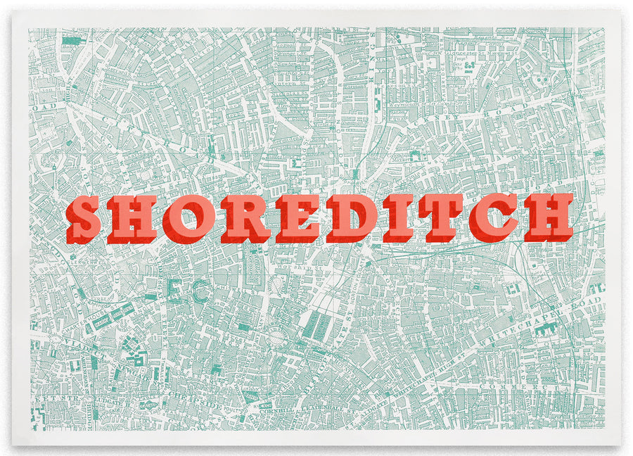 Planet Patrol - Map of Shoreditch