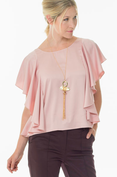 Sarah Blouse - Soft rose
