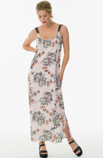 Sally maxi dress  - Soft rose