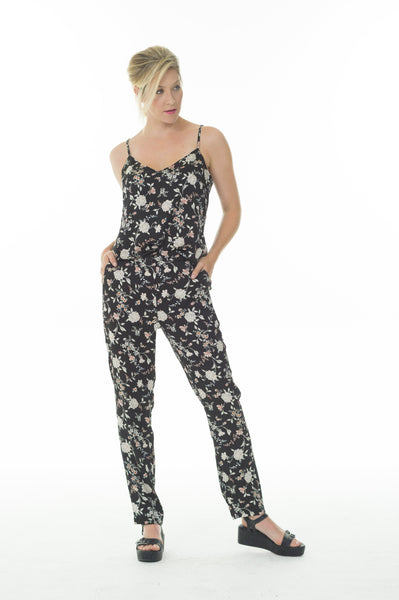 Lisa pants - Black floral