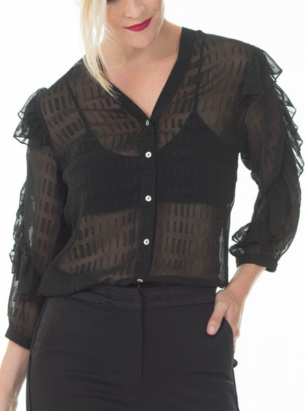 Ann blouse - Black