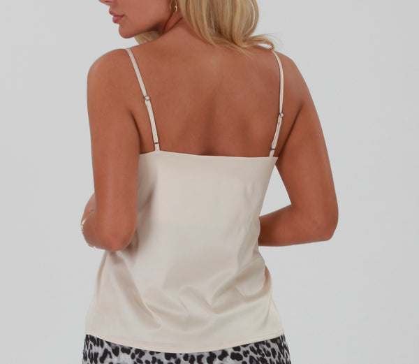 Lisa camisole top -  Beige