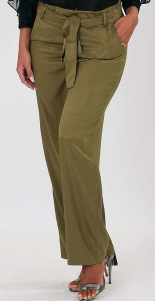 Hanne pants - Khaki green