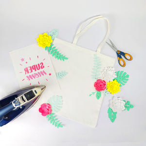 Mother's Day DIY Tote Bag - Free Printable