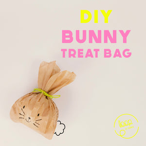 Easter Decoration - Bunny Gift Bags - DIY