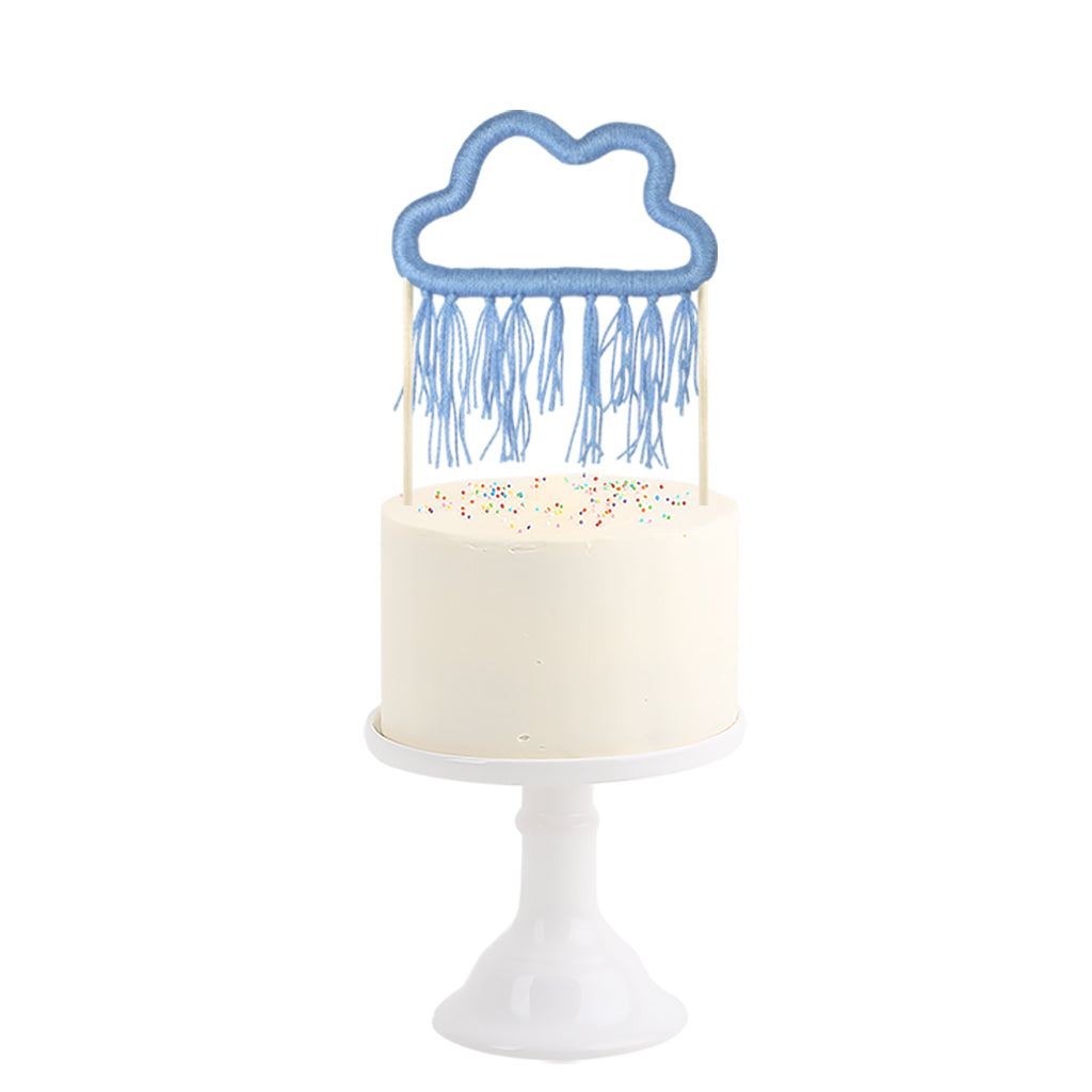 Cotton Cake Topper . Cloud