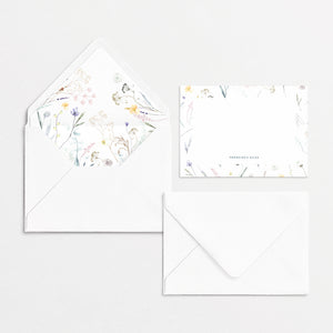 Pressed Flowers Cards & Envelopes Blossom Kit