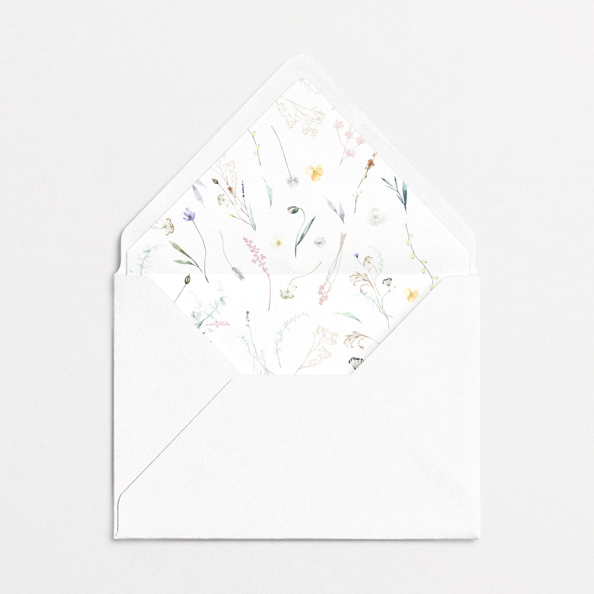 Pressed Flowers Cards & Envelopes Spring Kit