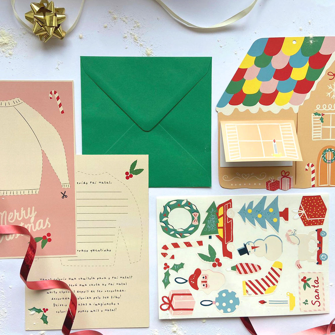 LETTER TO SANTA KIT - Gingerbread House