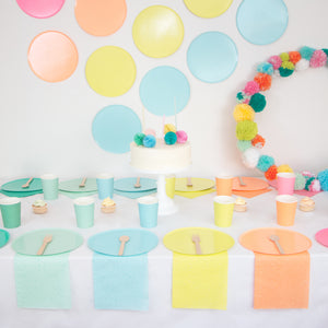 Party Plates - Party Colors