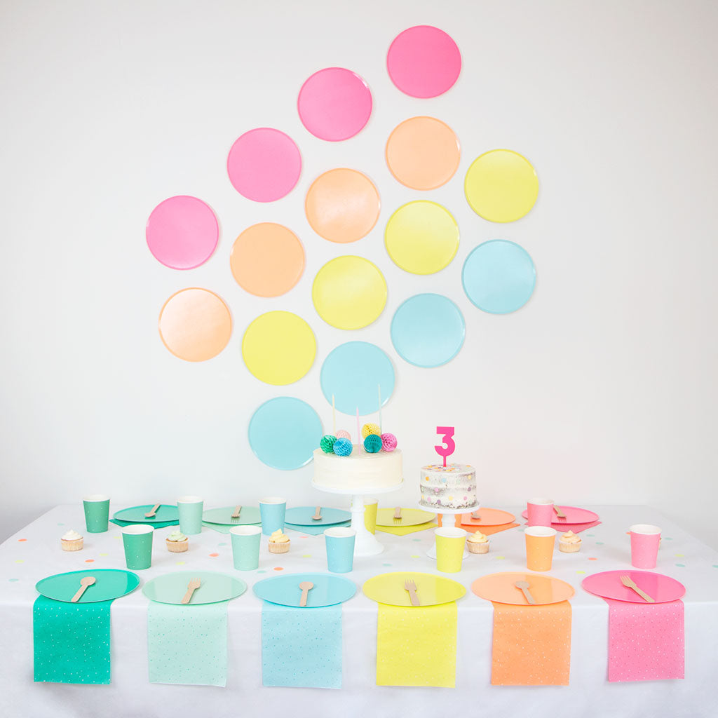 Party Napkins - Party Colors