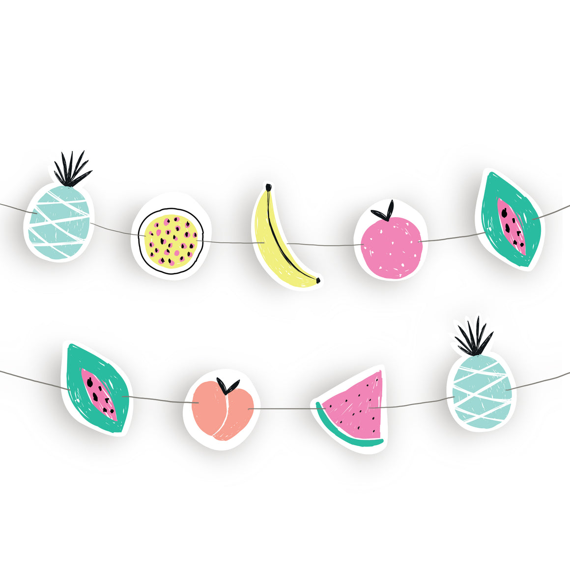 Summer Fruit Garland