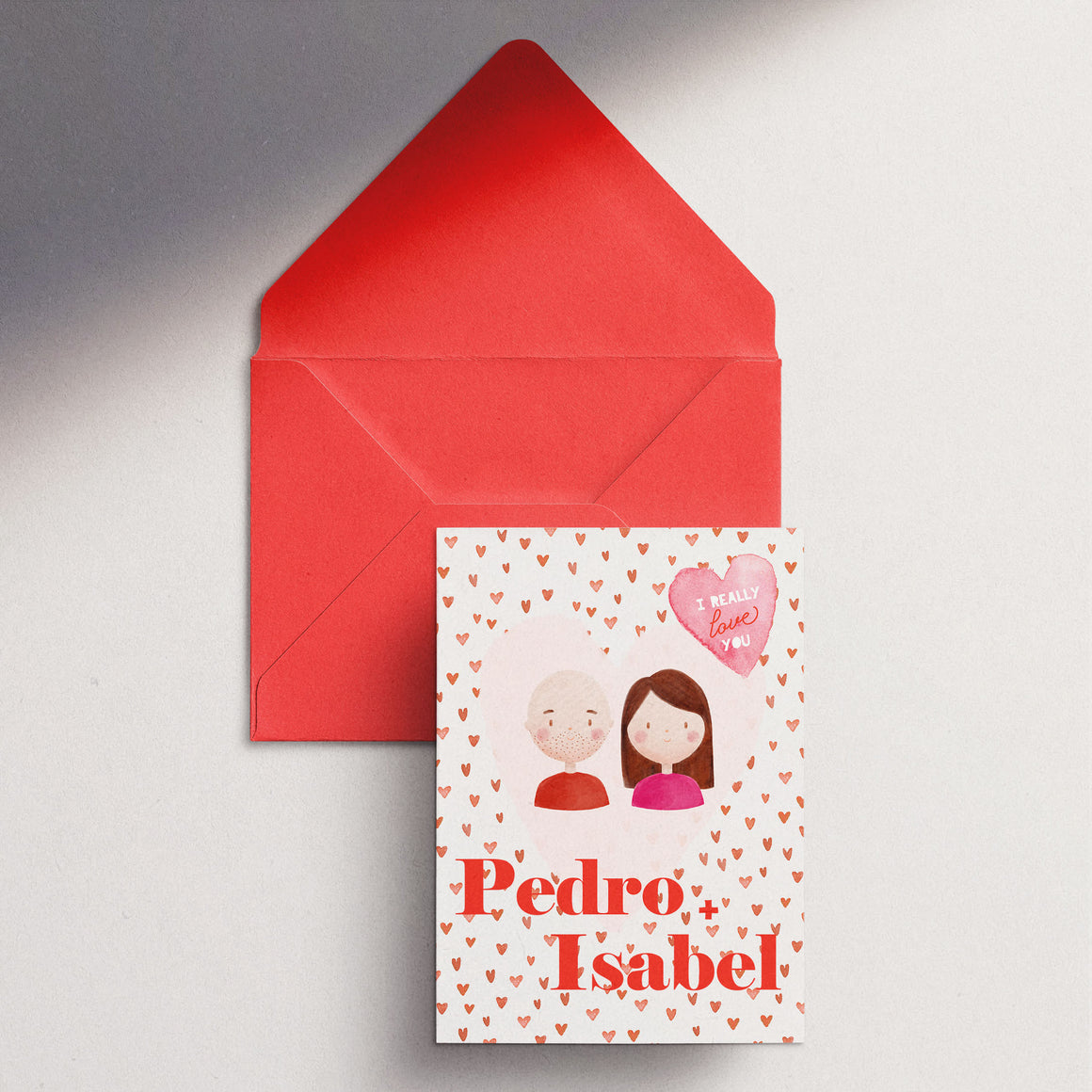 Valentine's Day Personalised Card