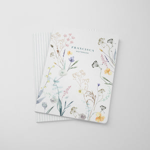 Pressed Flowers Blossom Notebook