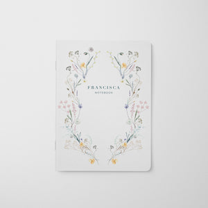 Pressed Flowers Dream Notebook