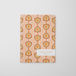 Cosmic Love Retro Notebook Kit