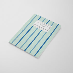 Tiger King Notebook - Mint Lines
