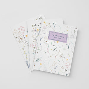 Pressed Flowers Notebook Kit
