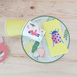 Woodland Collection Paper Plates