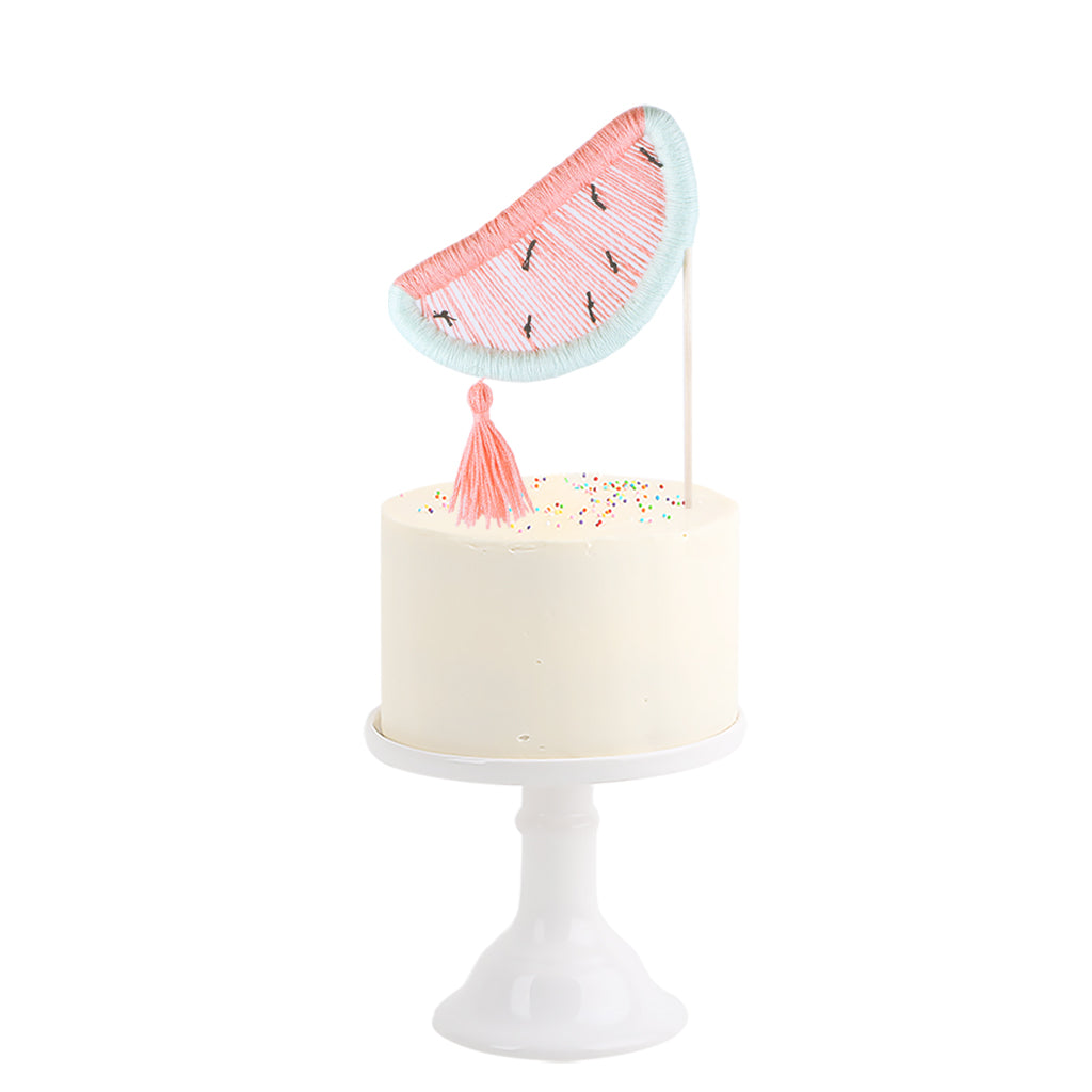 Cotton Cake Topper . Watermelon