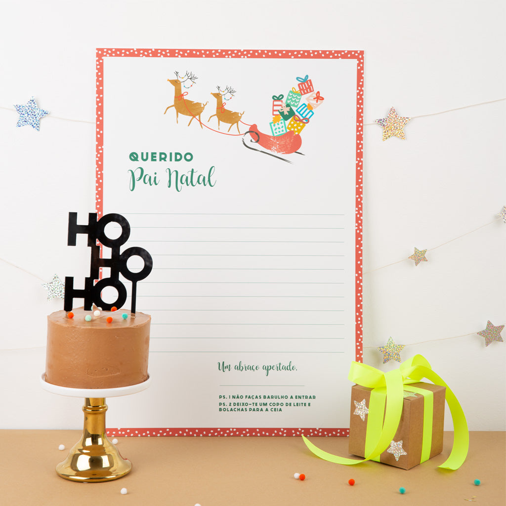 LETTER TO SANTA KIT - North Pole