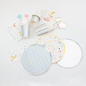 Celestial Collection Paper Plates