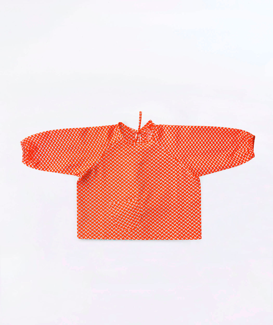Blouse tablier bébé Pépin orange