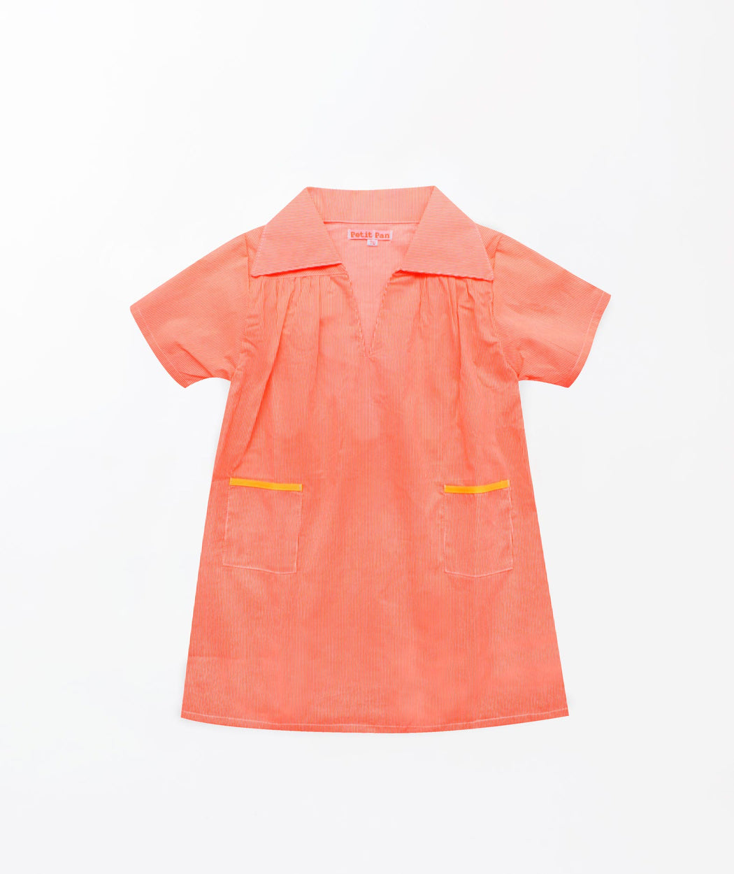 Robe gibus Rigato orange fluo